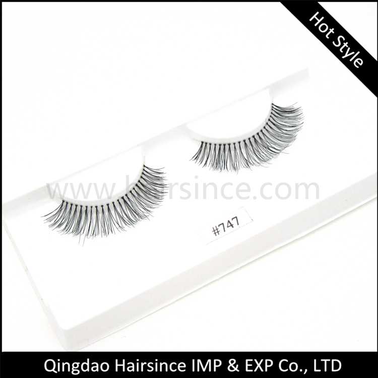 Remy human hair lashes full handmade, high quality mink hair lashes free sample available