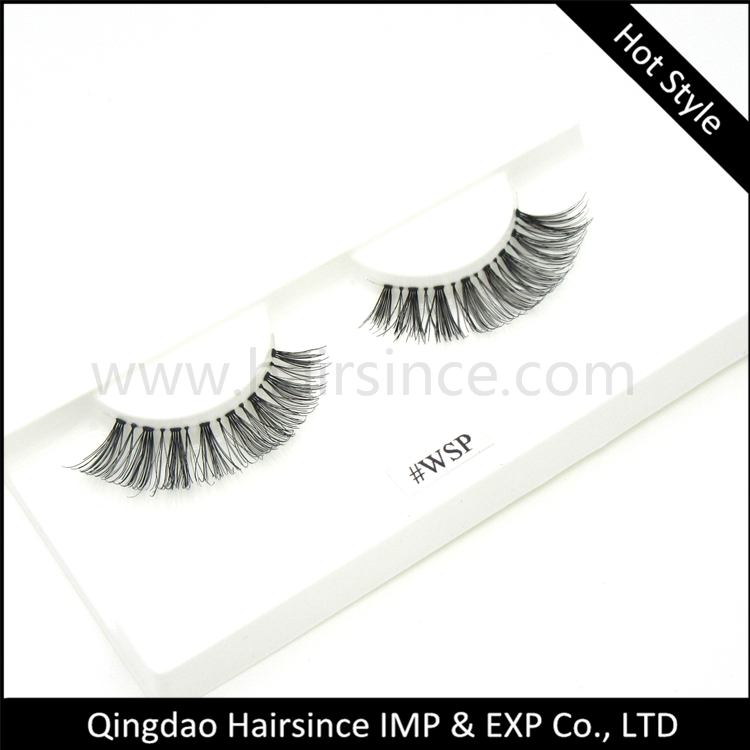 Quality hand tied human hair lashes products, horse hair lashes free shipping, mink hair lashes 3D style