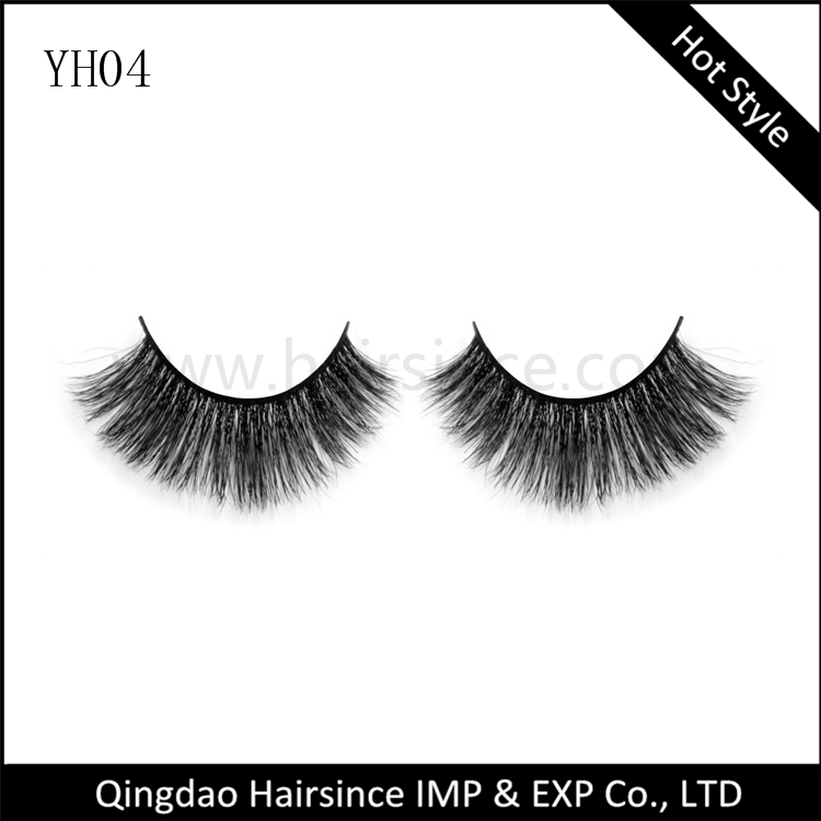 Alibaba free shipping horse hair lashes, human hair lashes, 3D lashes manufacturer