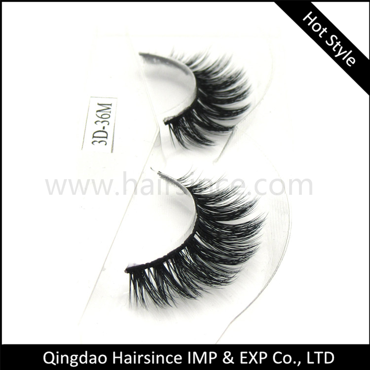 Hot style 3D silk hair lashes, synthetic hair lashes with 3D curls, free sample lashes available