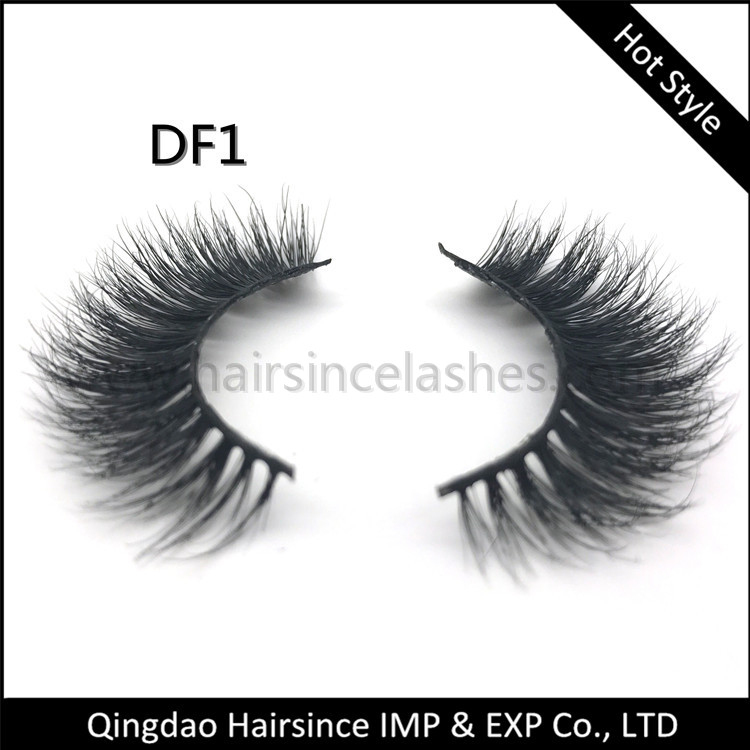 Free sample mink hair lashes 3D styles, free design lashes package, wholesale price lashes