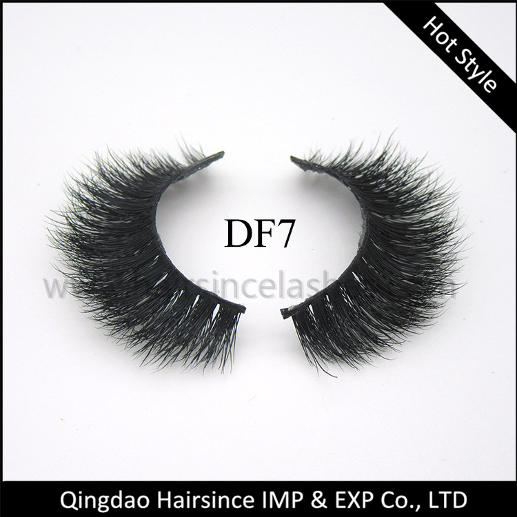 3D full thick mink hair lashes, horse hair lashes, silk hair lashes free sample available