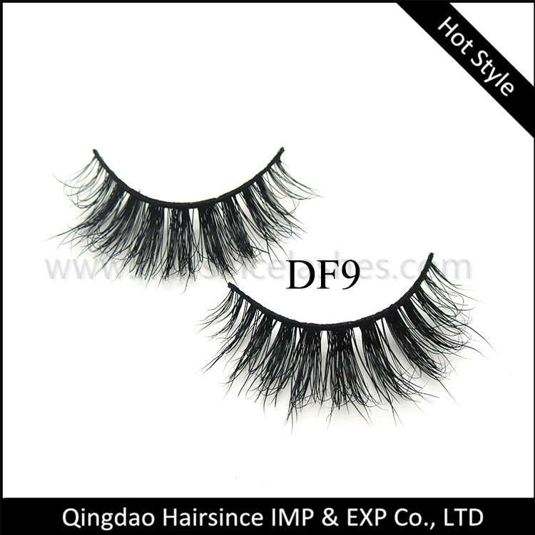 Top quality 3D lashes, transparent band 3D mink lashes, 3D silk hair lashes, human hair lashes cheap price