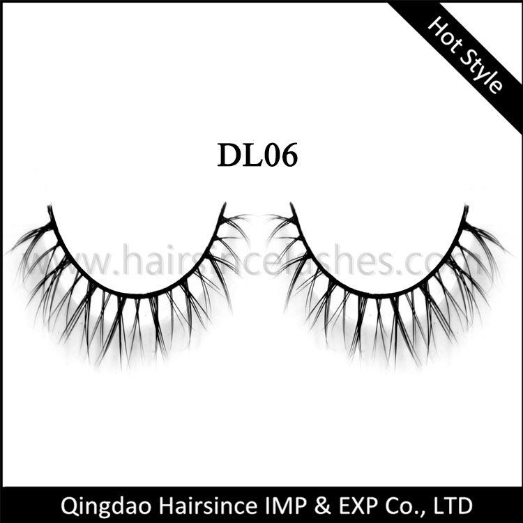 Luxury quality under mink hair eyelash, 3D lashes, more 25 times reusable lashes for sale