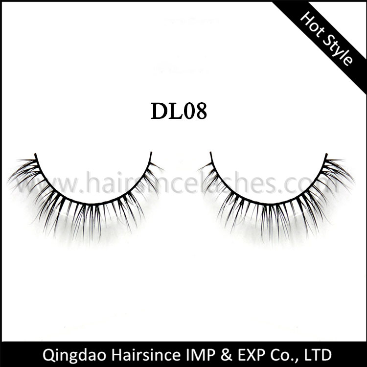 Sexy quality style mink lashes understyle eyelash, horse hair lashes, 3D lashes from Alibaba sample available