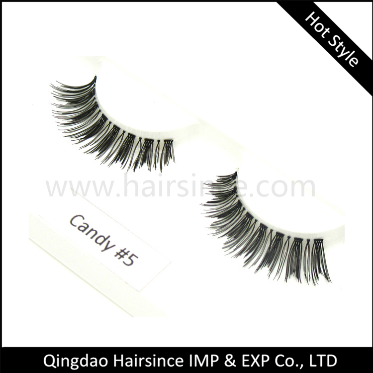 Hot style 100% handtied silk hair material lashes customized lashes package human hair lashes HUDA style lashes supplier