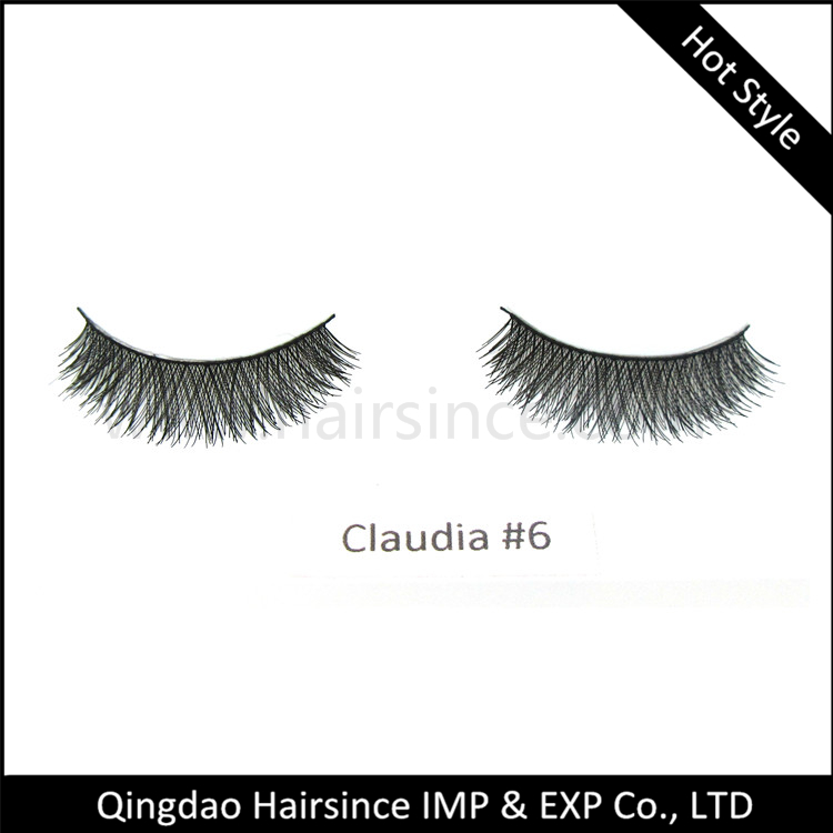Free sample HUDA style silk hair lashes handtied style natural curls on sale