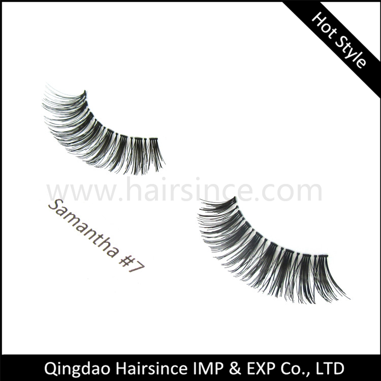 Free design customized lashes package 100% handtied lashes silk hair lashes with beautiful design from Alibaba