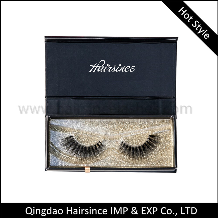 Hot popular mink lash magnetic lashes case free design package for sale