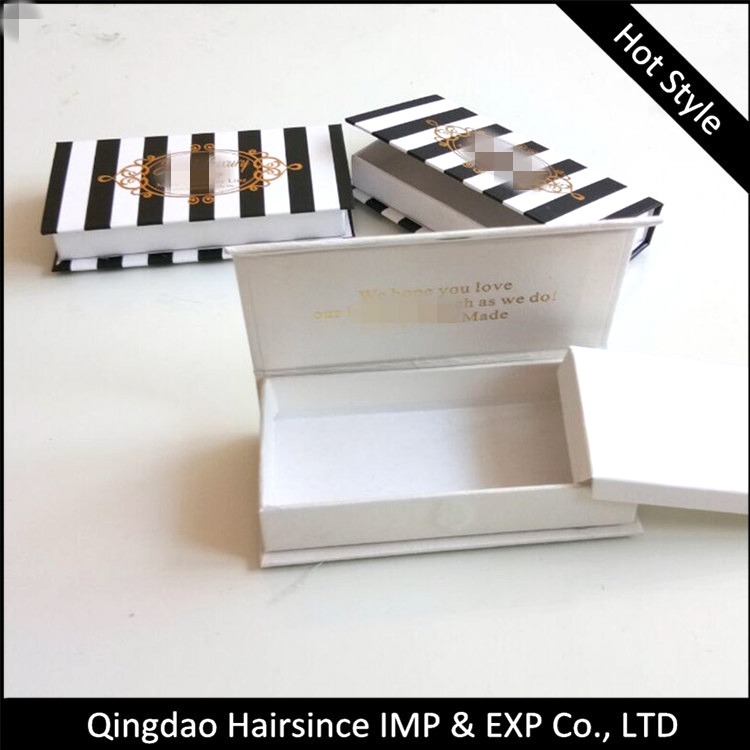 New popular design lashes package mink lashes free design cardboard package case