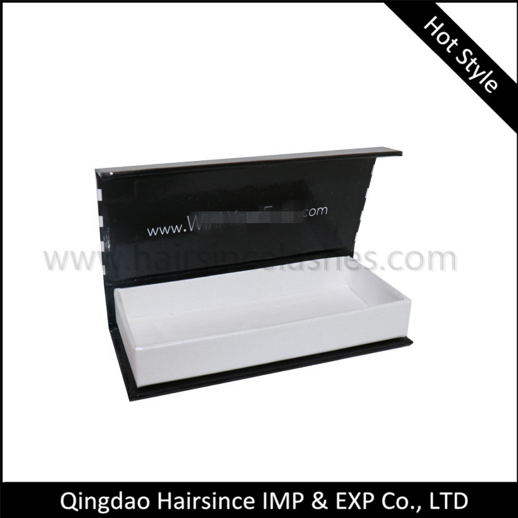 Stripe style lashes magnetic lashes box 3D lashes package horse hair products supplier