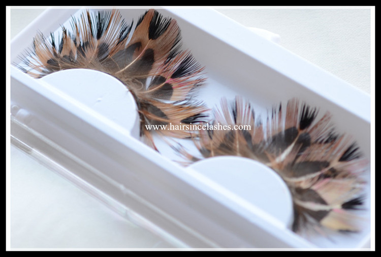 High quality party lashes feather lashes stage lash on sale