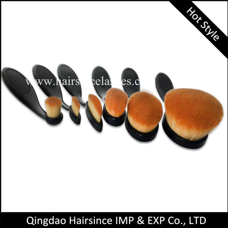 Hot selling makeup brushes 6 piese customized package available cheap price on sale