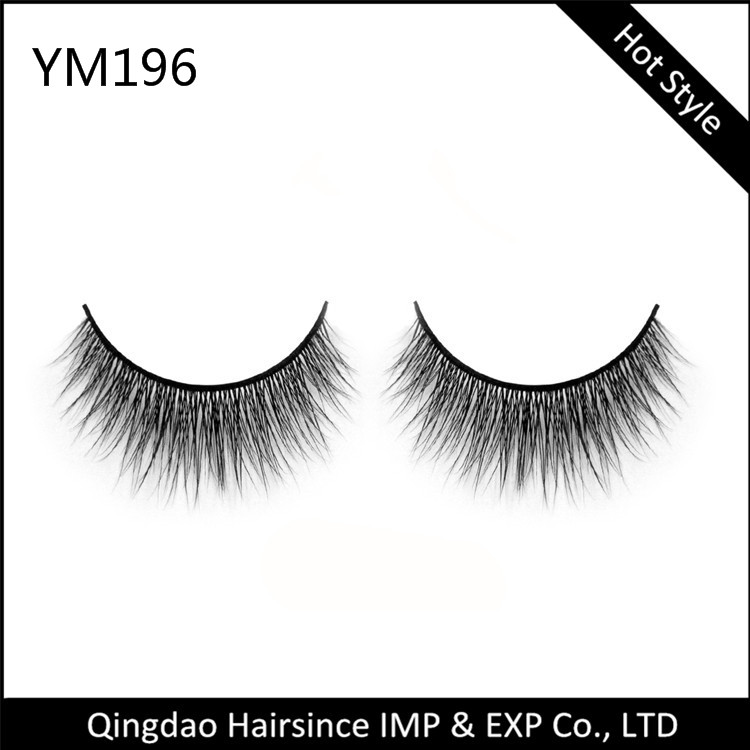 wholesale high quality private label Custom brand real 3D mink eyelashes