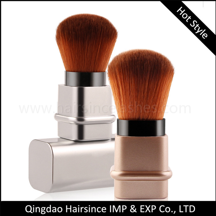 One pc foundation brushes for makeup quality silk hair material easy clean makeup brushes wholesale price