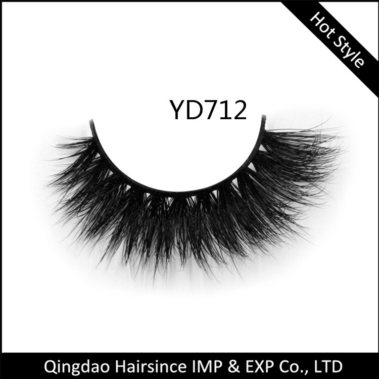 Hot Top Quality 3d Real Mink Fur False 100 Mink Hair Eyelashes