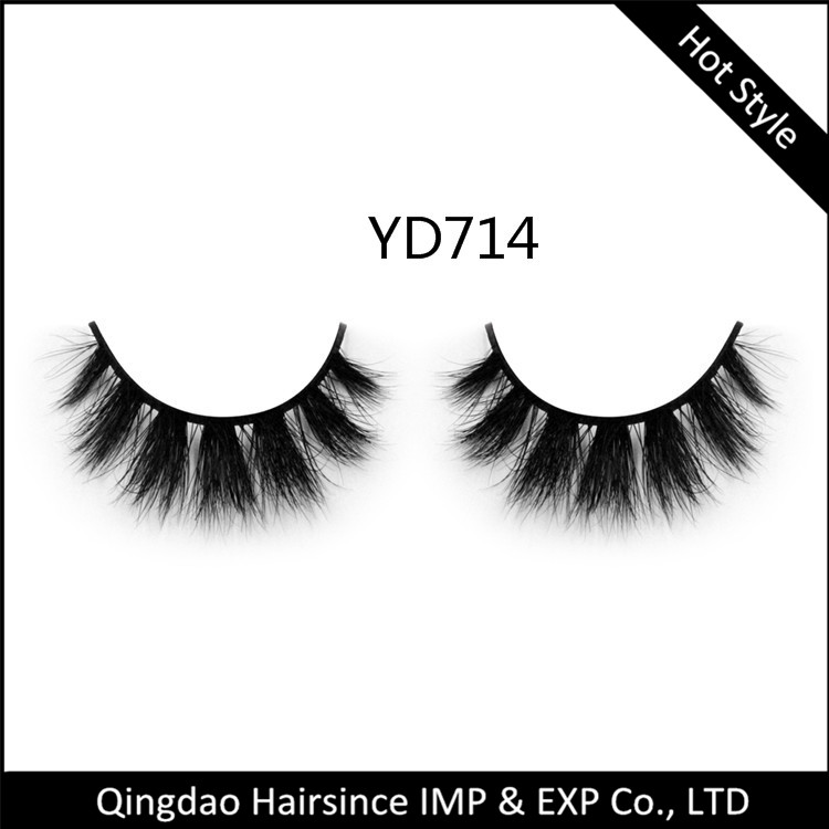 wholesale sale 100% handmade mink hair eyelashes 3D mink fur eyelashes super quality
