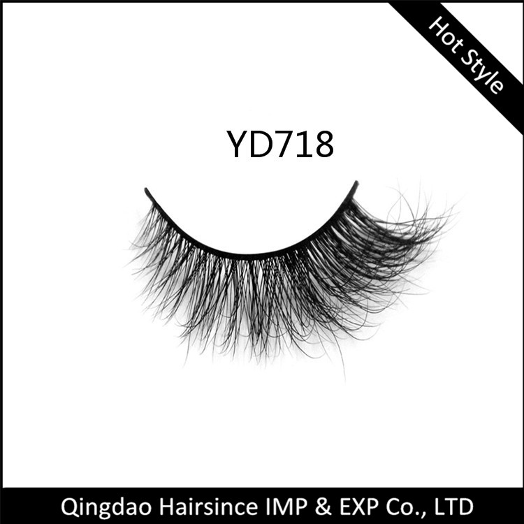 Premium super quality 3D mink hair eyelashes with free design package from Ebay