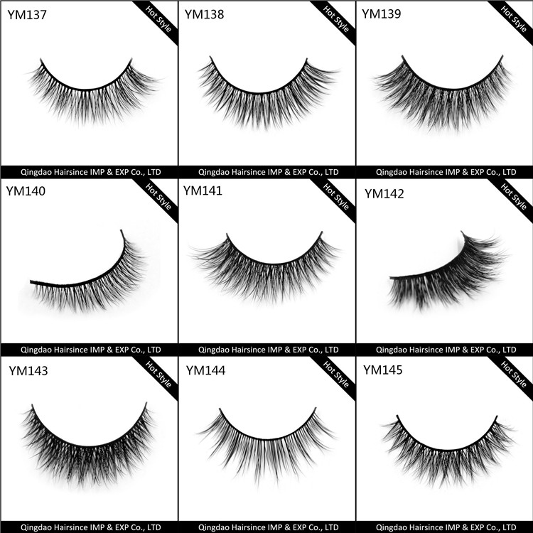 Super styles mink hair lashes free design lashes package free shipping to USA