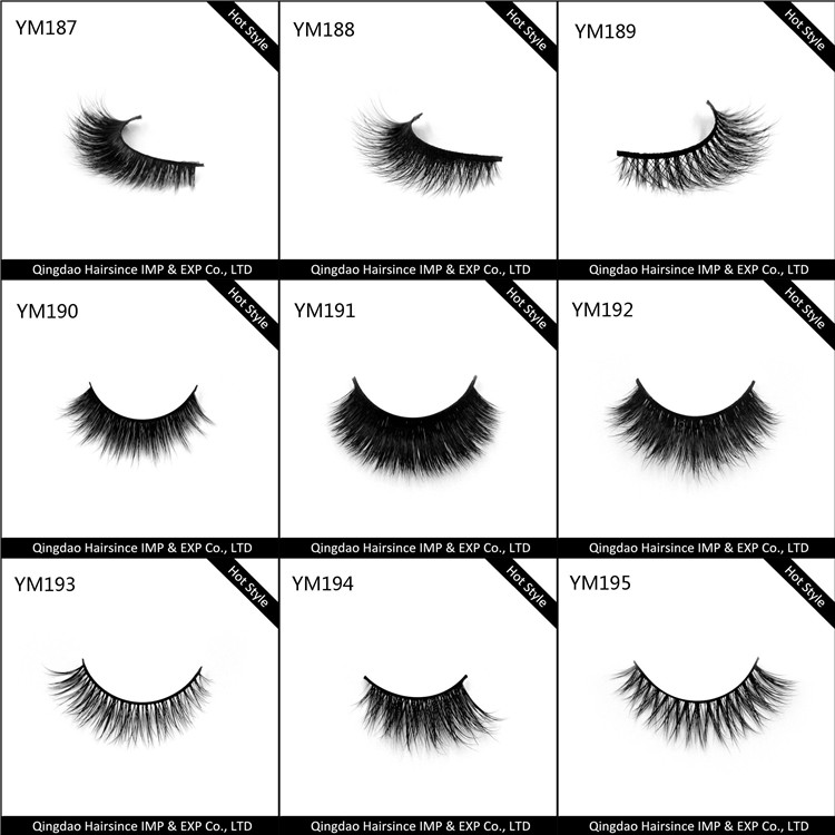 Fashionable lashes catalog good quality with good price reusable more than 25 times in a good condition