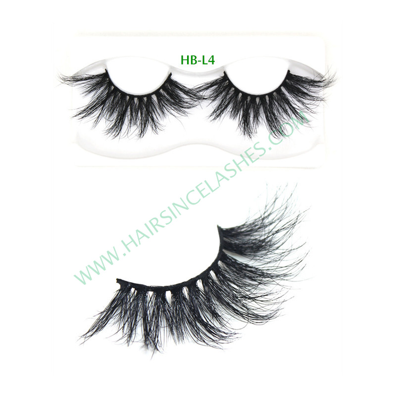 Reusable style mink hair lashes mink eyelash with good price