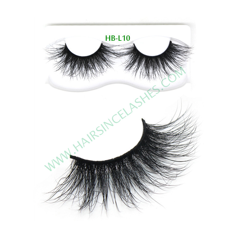 Long style factory supply 5D mink hair lashes hot style