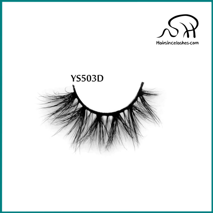 Small 3D mink hair lashes natural looks mink lashes eyelashes without crulty mink lash