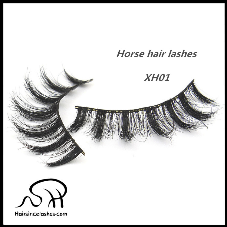 Hot selling styles horse hair lashes good price from alibaba wholesale styles eyelashes