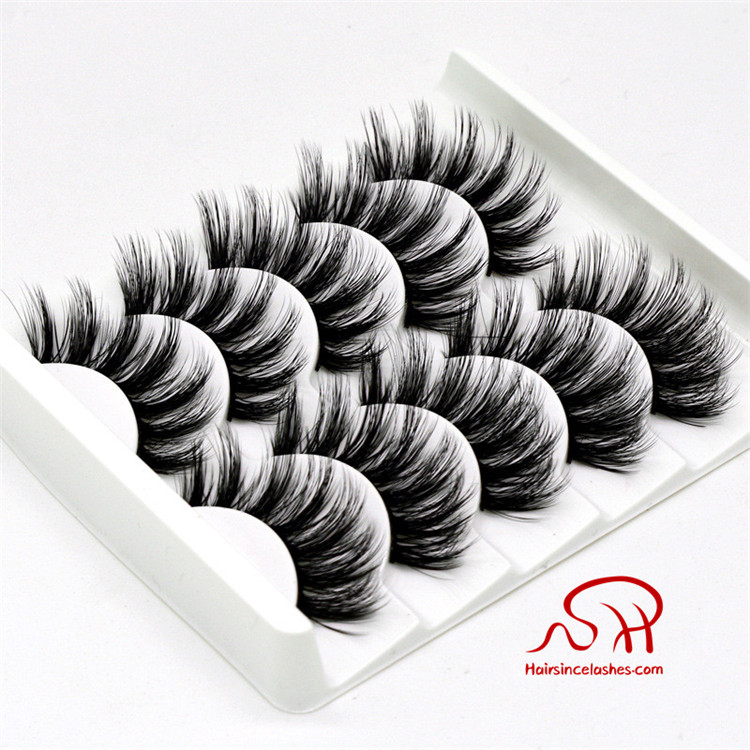 Factory supplier lashes products 3D faux mink hair lashes silk hair lashes